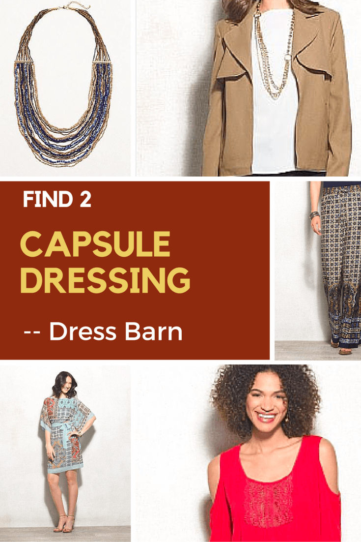 Taking Find 2 to a new place:  Dress Barn.