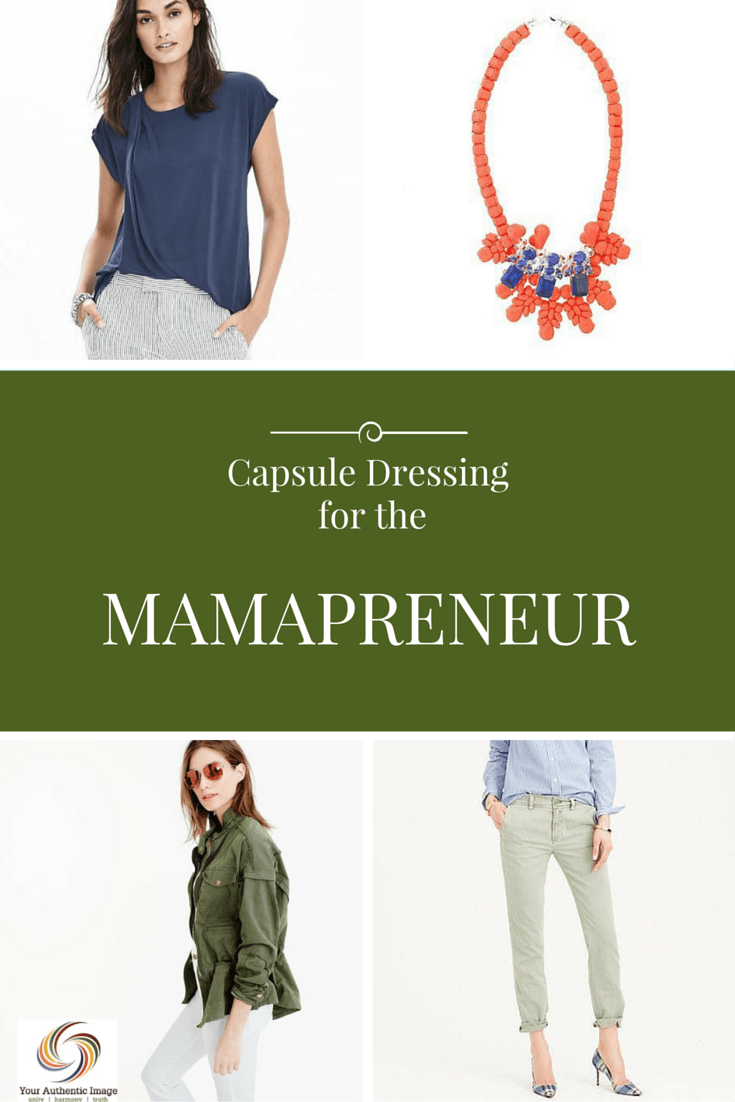 Capsule for a Busy Mompreneur