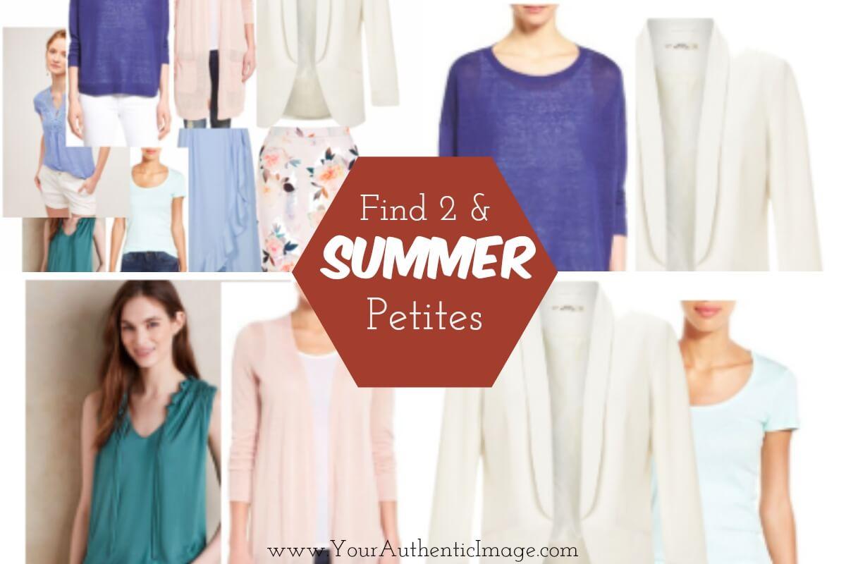 Find 2 Summer Petites